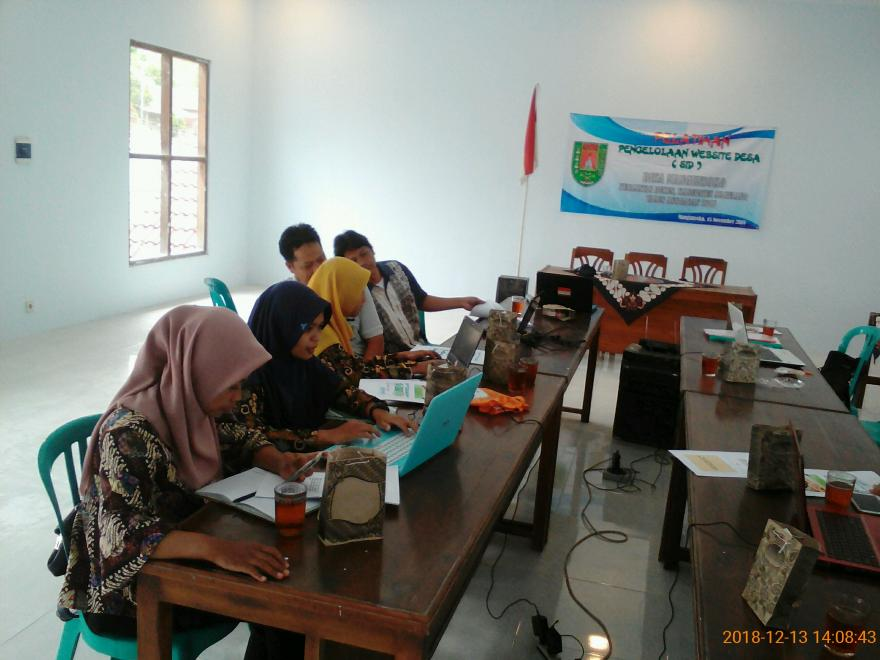 Image : Pelatihan Pengelolaan Website Desa (Sistem Informasi Desa)